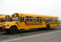 First Student fuels 86 school buses with propane autogas, for use in Portland Public Schools.